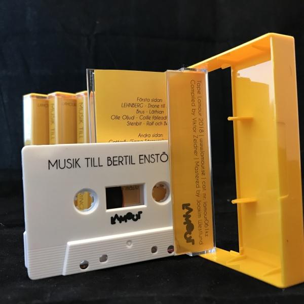 Various Artists - Musik tillägnad Bertil Enstöring vol. 1 (Back)