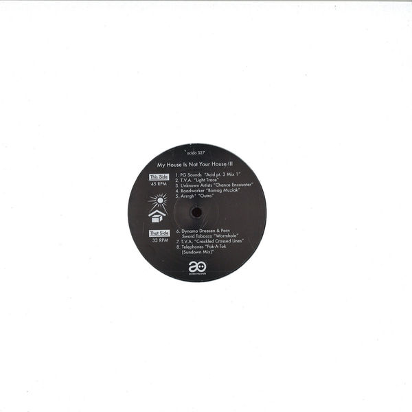 Various Artists - My House Is Not Your House III (Back)
