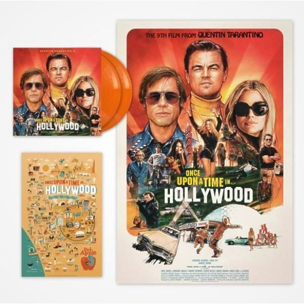Various Artists - Once Upon A Time In Hollywood (OST) (Orange 2LP) (Back)