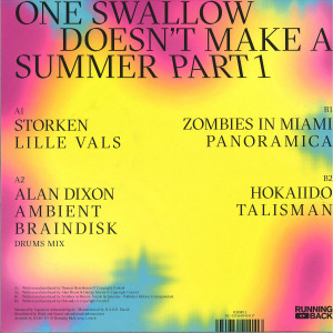 Various Artists - One Swallow Doesn't Make A Summer - Part 1 (Back)
