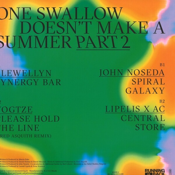 Various Artists - One Swallow Doesn't Make A Summer - Part 2 (Back)