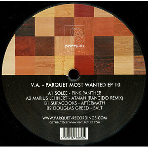 Various Artists - Parquet Most Wanted Ep 10