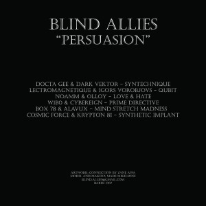 Various Artists - Persuasion [printed sleeve / vinyl only] (Back)
