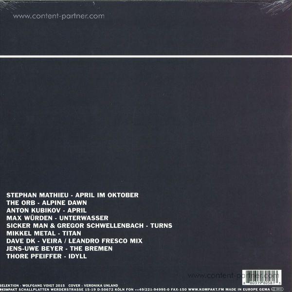 Various Artists - Pop Ambient 2016 (LP +CD) (Back)