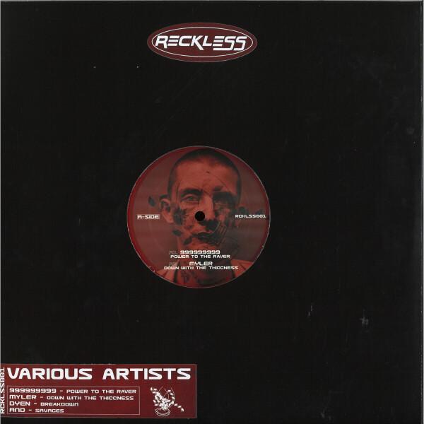 Various Artists - RCKLSS001 (Back)