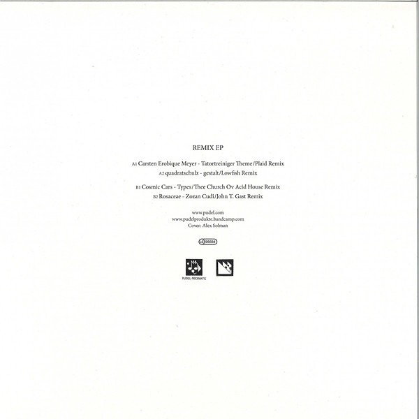 Various Artists - Remix W/ Rmxs By Plaid, Lowfish, John T. Gast (Back)