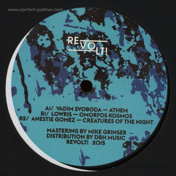 Various Artists - Revolt! 2 (Back)