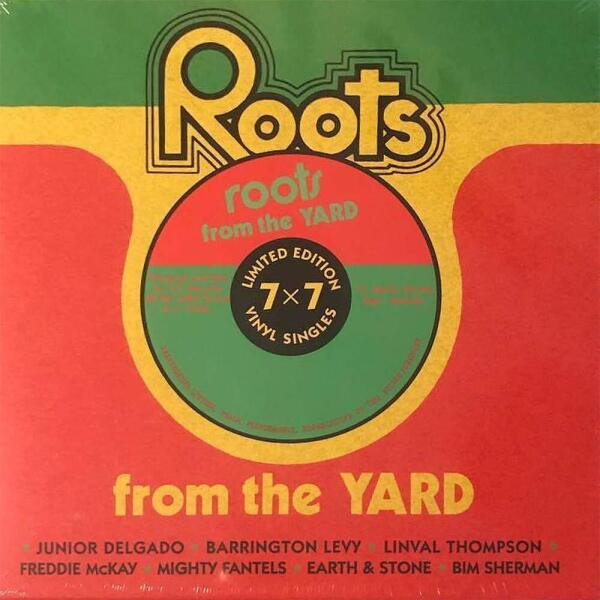 """Various Artists - Roots From The Yard (7x7"""" Single Box)"""