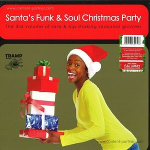 Various Artists - Santa's Funk & Soul Christmas Party 3