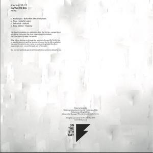 Various Artists - Spectrum VA 1/3 (Back)