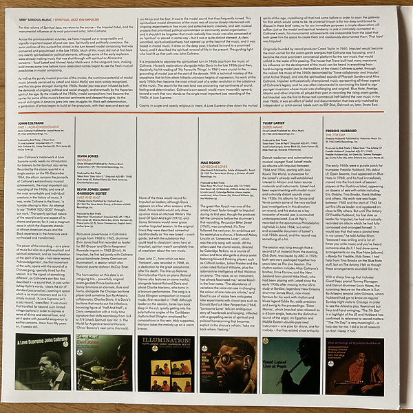 Various Artists - Spiritual Jazz XII: Impulse! (Gatefold 3LP) (Back)