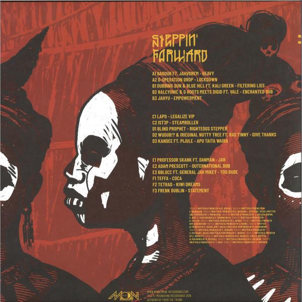 "Various Artists - Steppin' Forward 2 3x12"" (Back)"