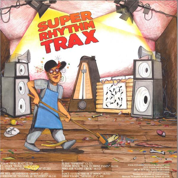 Various Artists - Super Rhythm Trax (Back)