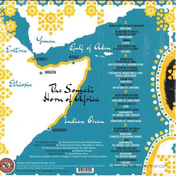 Various Artists - Sweet As Broken Dates: Lost Somali Tapes (2LP) (Back)