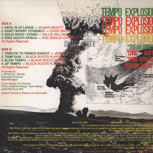 Various Artists - Tempo Explosion (Back)