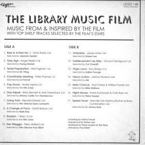 Various Artists - The Library Music Film (OST) (Back)