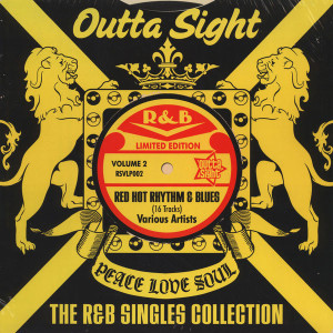 Various Artists - The R&B Singles Collection LP Vol. 2 (Remastered)