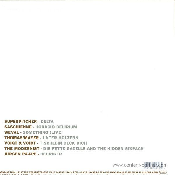 Various Artists - Total 14 (Back)