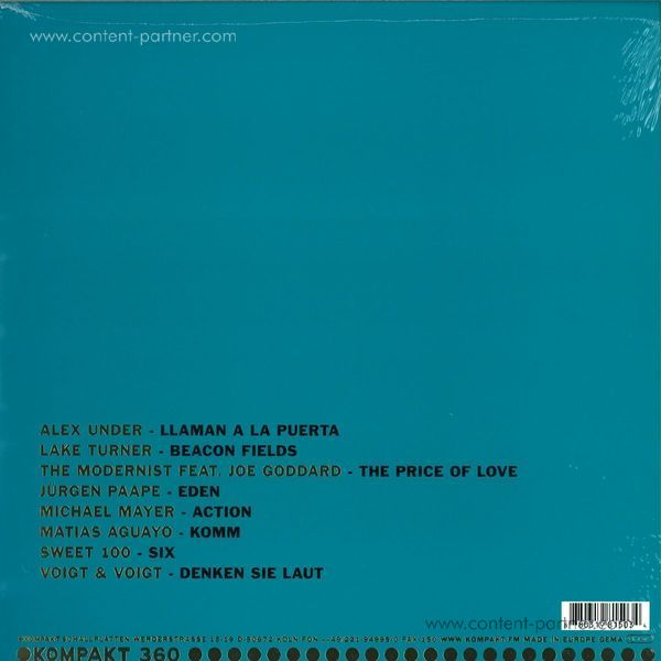 Various Artists - Total 16 (Back)
