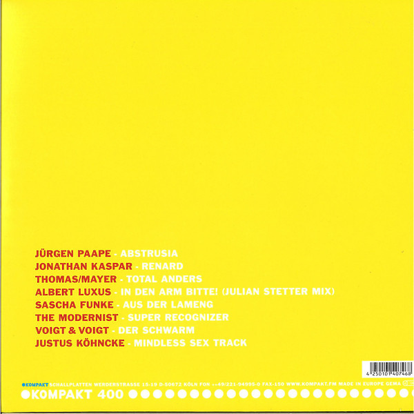 Various Artists - Total 19 (Back)