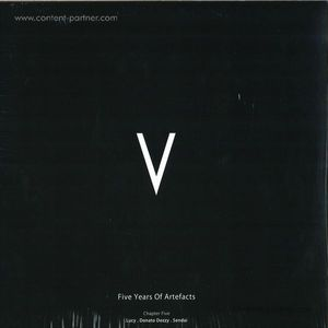 Various Artists - V - 5 Years Of Artefatcs Chapter 5-Back