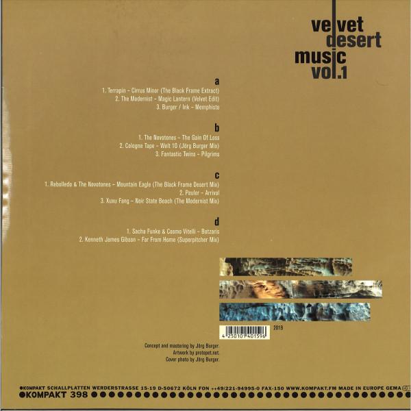 Various Artists - Velvet Desert Music Vol. 1 (Back)