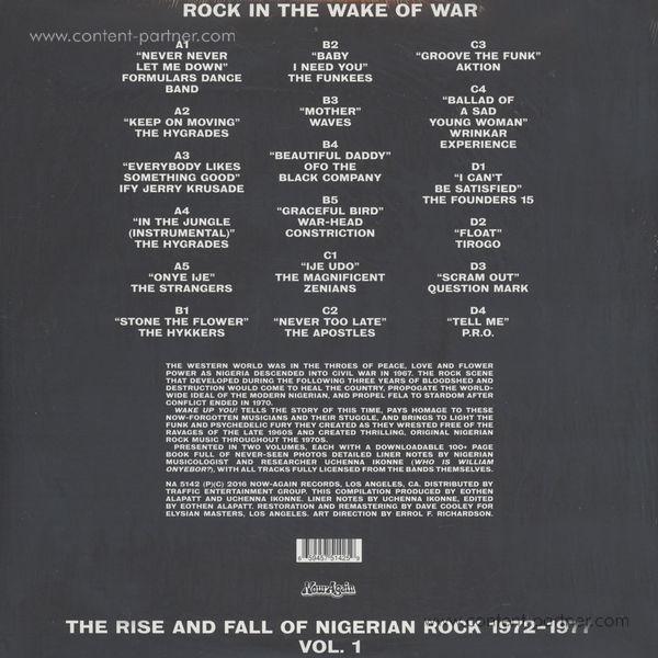 Various Artists - Wake Up You! Vol. 1 (Nigerian Rock 72-77) (Back)
