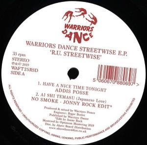 Various Artists - Warriors Dance RU Streetwise EP Inc. Jonny Rock Ed
