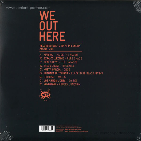Various Artists - We Out Here (2LP) (Back)