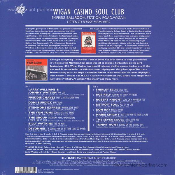 Various Artists - Wigan Casino II/Station Road, Wigan 1973-81 (Back)