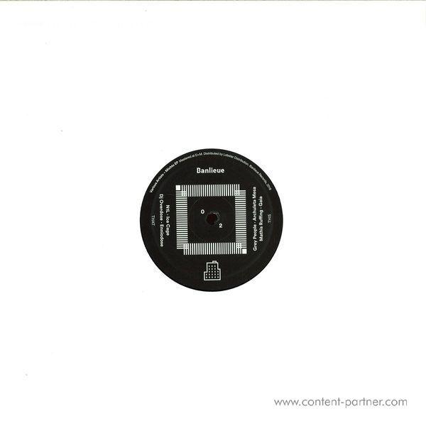 Various Artits - Michto EP (Back)