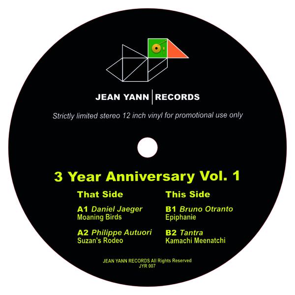 Various (D. Jaeger, P. Autuori, B. Otranto, Tantra - 3 Year Anniversary Vol.1