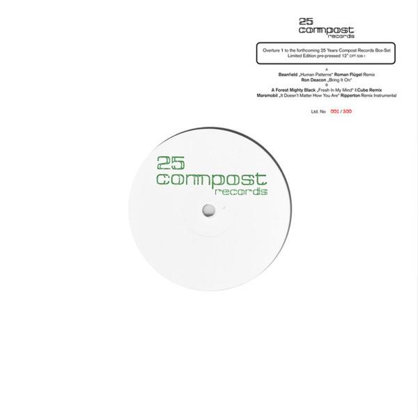 Various (Roman Flügel/I:Cube/Ripperton) - 25 Compost Records - Overture 1