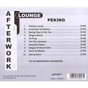 Various - Afterwork Lounge Peking (Back)