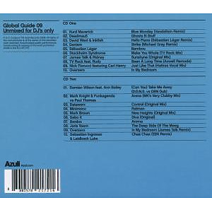 Various - Azuli Pres.Global Guide 2009 (Unmixed) (Back)
