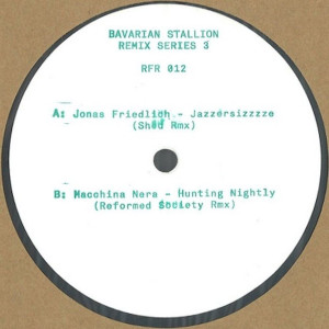 Various - Bavarian Stallion Remix Series 3 (Back)