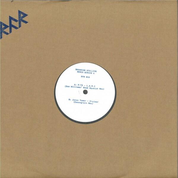 Various - Bavarian Stallion Remix Series 4 (Back)