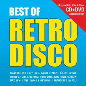 Various - Best Of Retro Disco CD+DVD