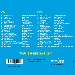 Various - Best Of Retro Disco CD+DVD (Back)