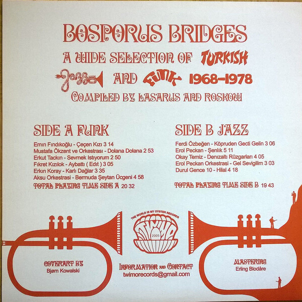 Various - Bosporus Bridges - A Wide Selection of Turkish... (Back)