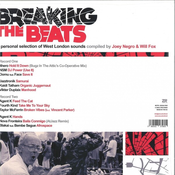 Various - Breaking The Beats: West London Sounds (Back)