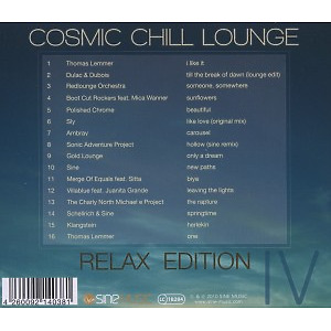 Various - Cosmic Chill Lounge Vol.4 (Back)
