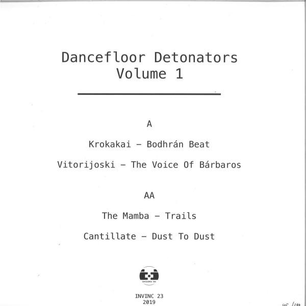 Various - Dancefloor Detonators Vol.1 (Back)