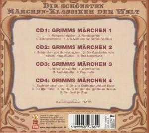 """Various - Grimms M""""rchen Boxset Folgen 1 (Back)"""