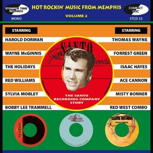 Various - Hot Rockin' Music From Memphis Vol.2