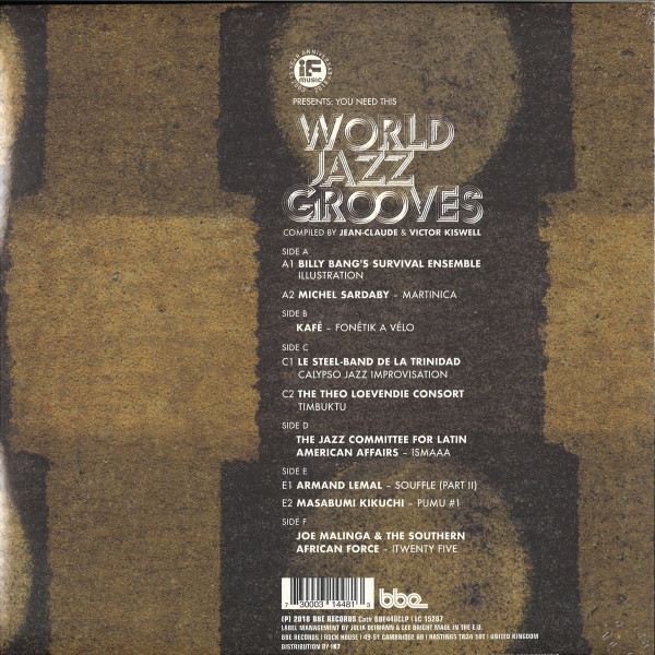 Various - If Music Pres.: You Need This - World Jazz Grooves (Back)