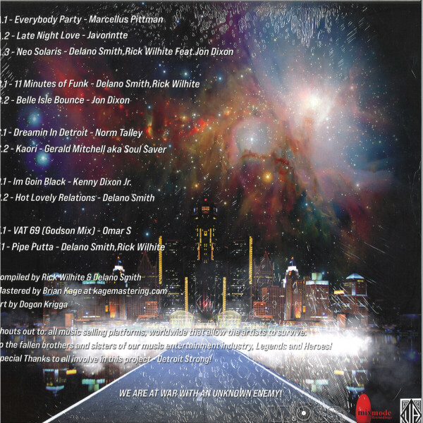 Various - Parabellum Detroit (Compiled by Rick Wilhite & Del (Back)