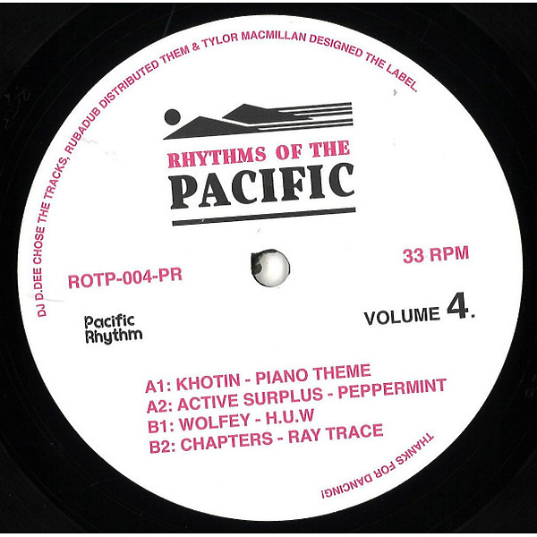 Various - Rhythms Of The Pacific Volume 4