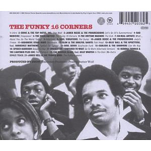 Various - The Funky 16 Corners (Back)