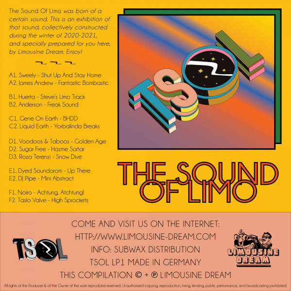 Various - The Sound of Limo (Back)